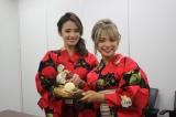 「焼き紗々 with トーストアイスのせ」を作る、熱GIRL (C)oricon ME inc.