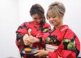 「焼きカスタードケーキ with 生絞りレモン」を作る、熱GIRL