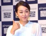 寝具ブランド『エアウィーヴ』新CM発表会に出席した浅田真央 (C)ORICON NewS inc.