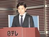『風が強く吹いている』テレビアニメ化発表会見に出席した森圭介アナウンサー (C)ORICON NewS inc.