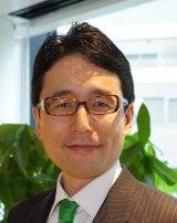 ドラマ25『インベスターZ』に出演する株式会社ユーグレナ 社長CEO・出雲充氏(C)「インベスターZ」製作委員会