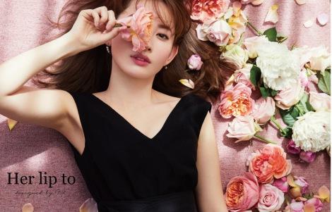 プロデュースのファッションブランド『Her lip to』をスタートさせる小嶋陽菜