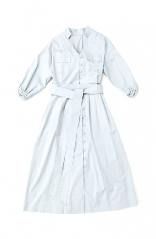 Cotton Maxi Shirts One-Piece
