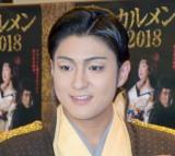 創作舞踊『裁SAI カルメン2018』囲み取材に出席した中村橋之助 (C)ORICON NewS inc.