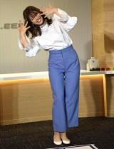 新CMで披露しているダンスを披露した稲村亜美 (C)ORICON NewS inc.