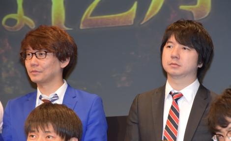 『M-1グランプリ2018』の開催会見に出席した三四郎 (C)ORICON NewS inc.