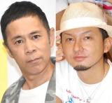 ISSA(右)の結婚に言及した岡村隆史 (C)ORICON NewS inc.