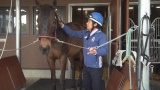 6月23日深夜放送、カンテレ・ドキュメンタリー番組『もう1度、騎手になりたい。ガンと闘ったどん底ジョッキー』(C)カンテレ