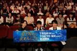 先行上映会イベントに出席した(左から)宮崎遊、山下大輝、鈴村健一