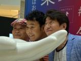 『Tik Tok Gallery』のオープニングイベントに登壇したダチョウ倶楽部 (C)ORICON NewS inc.