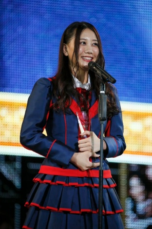 【第10回AKB総選挙】SKE48古畑奈和、速報から大幅上昇で15位 2年連続で選抜入り
