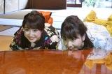 7月1日放送の読売テレビ『クチコミ新発見!旅ぷら』(前10:55)で浴衣姿で京都旅行を楽しむ川田裕美アナと虎谷温子アナ