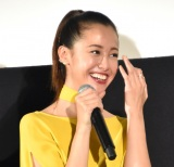 映画『猫は抱くもの』初日舞台あいさつに出席した沢尻エリカ (C)ORICON NewS inc.
