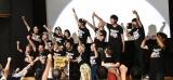 盛り上がる会場の様子=映画『カメラを止めるな!』の初日舞台あいさつ (C)ORICON NewS inc.