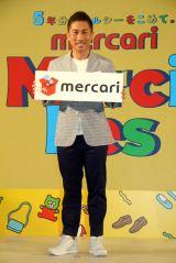 サッカー元日本代表の前園真聖がメルカリのイベントに登壇(C)ORICON NewS inc.