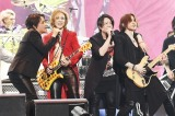 24日公演セッション(左から)RYUICHI(LUNA SEA)、YOSHIKI(X JAPAN)、TERU(GLAY)、SUGIZO(LUNA SEA)