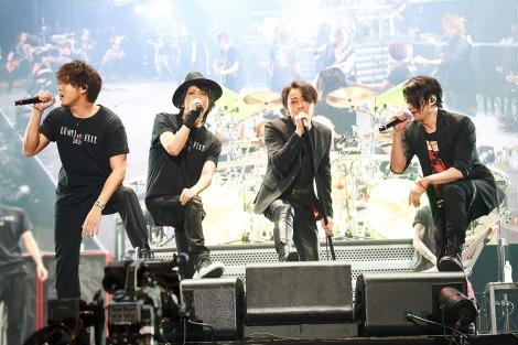 23日公演セッション(左から)TAKAHIRO(EXILE/ACE OF SPADE)、マオ(SID)、RYUICHI(LUNA SEA)、TERU(GLAY)