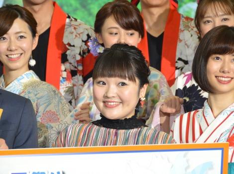 『ようこそ!!ワンガン夏祭り THE ODAIBA 2018』制作発表に出席した柳原可奈子 (C)ORICON NewS inc.