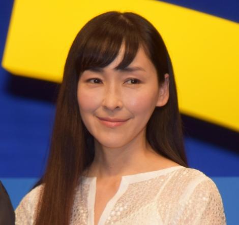 『未来のミライ』のジャパンプレミアに出席した麻生久美子 (C)ORICON NewS inc.