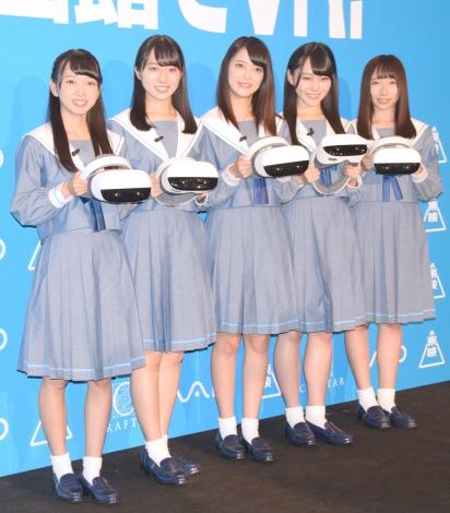 STU48(左から)石田みなみ、今村美月、田中皓子、土路生優里、薮下楓 (C)ORICON NewS inc.