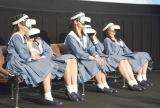 VR映画を体験したSTU48=『VRCC(VR Cinema Consortium)』の概要発表会 (C)ORICON NewS inc.