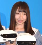 『VRCC(VR Cinema Consortium)』の概要発表会に出席したSTU48・薮下楓 (C)ORICON NewS inc.