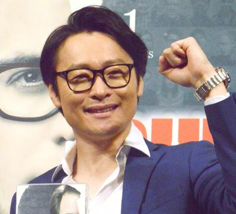 海外ドラマ『BULL/ブル 心を操る天才』DVDリリース記念イベントに出席した和牛・川西賢志郎 (C)ORICON NewS inc.