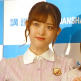 『乃木撮 VOL.01』の刊行記者会見に出席した乃木坂46・松村沙友理 (C)ORICON NewS inc.