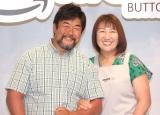 仲良くW杯観戦したことを明かした(左から)佐々木健介、北斗晶(C)ORICON NewS inc.