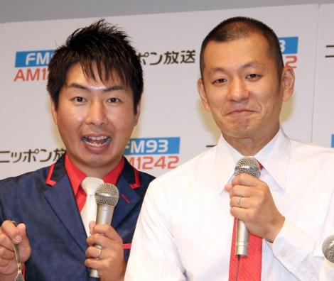 歌手デビューに意気込むU字工事=メジャーデビューシングル発売』お披露目記者会見 (C)ORICON NewS inc.