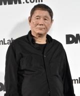 大型デジタルアート空間「チームラボ プラネッツ TOKYO DMM.com」先行内覧会に出席した北野武 (C)ORICON NewS inc.