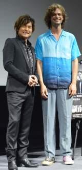 トークショーに登壇した(左から)森久保祥太郎、マシュー・グレイ・ギュブラー (C)ORICON NewS inc.