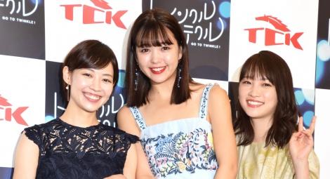 サムネイル (左から)吉谷彩子、藤田ニコル、川栄李奈 (C)ORICON NewS inc.