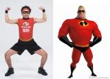 サンシャイン池崎がインクレ・ヒーロー・ダンスを披露 (C)2018 Disney/Pixar. All Rights Reserved.