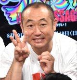 舞台『カンコンキンシアター32 〜THE LAST MESSAGE〜 「クドい!」』の制作発表会見に出席したやす (C)ORICON NewS inc.