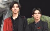 映画『BLEACH』のジャパンプレミアに出席した(左から)福士蒼汰、吉沢亮 (C)ORICON NewS inc.