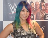 WWE日本公演『WWE Live Japan』取材会に出席したWWEの日本人スーパースター・アスカ (C)ORICON NewS inc.