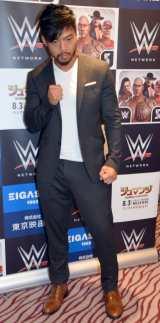 WWE日本公演『WWE Live Japan』取材会に出席したヒデオ・イタミ (C)ORICON NewS inc.