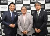 インタビューに応じた(左から)別所哲也氏、高岡浩三氏、小山薫堂氏 (C)ORICON NewS inc.