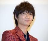 主演映画『パンク侍、斬られて候』が初日を迎えた綾野剛 (C)ORICON NewS inc.