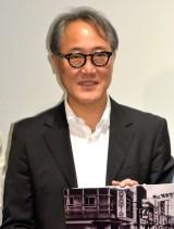 佐野史郎=映画『返還交渉人 いつか、沖縄を取り戻す』の初日舞台あいさつ (C)ORICON NewS inc.