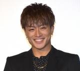 映画『ウタモノガタリ-CINEMA FIGHTERS project-』公開記念舞台あいさつに出席した白濱亜嵐