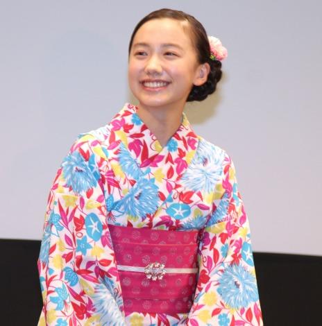 アニメ映画『劇場版ポケットモンスター みんなの物語』完成披露試写会に出席した芦田愛菜