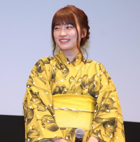 アニメ映画『劇場版ポケットモンスター みんなの物語』完成披露試写会に出席した川栄李奈