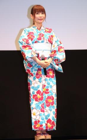 アニメ映画『劇場版ポケットモンスター みんなの物語』完成披露試写会に出席した中川翔子
