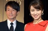 (左から)吉田栄作、内山理名 (C)ORICON NewS inc.