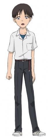 運転士として登場する碇シンジ(c)プロジェクト シンカリオン・JR-HECWK/超進化研究所・TBS (c)カラー