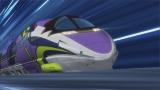 アニメ第17話に登場した「500 TYPE EVA」(c)プロジェクト シンカリオン・JR-HECWK/超進化研究所・TBS (c)カラー