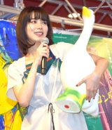 夏を感じさせる爽やかな衣装でイベントに参加した池田エライザ (C)ORICON NewS inc.