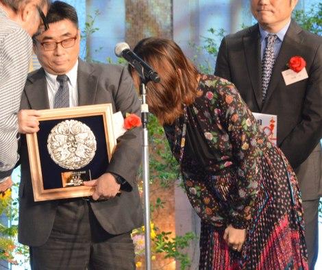 『第44回放送文化基金賞贈呈式』に出席した宮崎あおい (C)ORICON NewS inc.